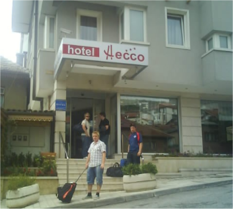 Inkvarteringen i Sarajevo