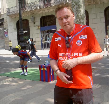 En riktig HIFare på plats i Barcelona