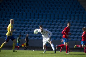 Andreas Linde övertygade i sista matchen Foto: Samone Falkman