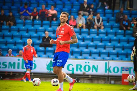 Är Victor på väg bort?     Foto: Samone Klinteberg